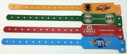 New Tech PVC Wideface wristbands