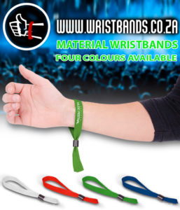 Material wristbands