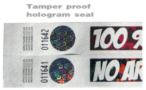 Hologram seal